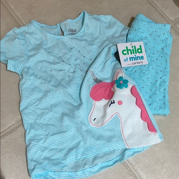 Carter's Child of Mine Unicorn Outfit